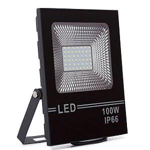 Kit 3 Refletor LED Holofote 100w Branco Frio IP66