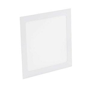 Kit 5 Painel Plafon LED 36w Quadrado Embutir - Branco Frio