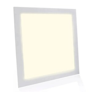 Kit 10 Painel Plafon LED Embutir Quadrado 40x40cm 36w Branco Quente
