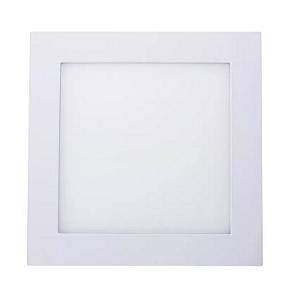 Kit 10 Painel Plafon Led 12w Quadrado Sobrepor - Branco Frio