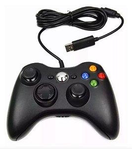 Controle para Xbox 360 com fio