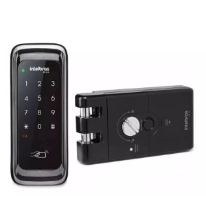 Fechadura Digital FR210 Intelbras Para Porta de Correr