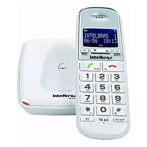 Telefone Sem Fio TS 63 V - Intelbras