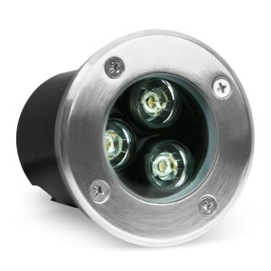 Balizador LED 3w De Chão - Branco Frio
