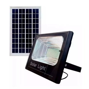 Kit Refletor LED  400W Solar Branco Frio + Panel Solar 400w
