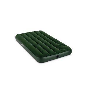 Colchão Inflável Clássico Midnight Verde Escuro - Solteiro