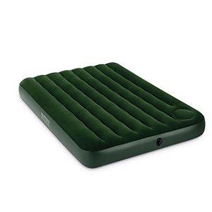 Colchão Inflável Clássico Midnight Verde Escuro - Casal