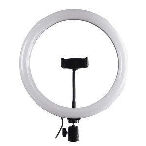 Iluminador LED Ring Light Para Fotos e Vídeos - 12 polegadas