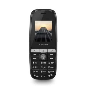 Celular Multilaser Up Play Dual Chip 32Mb Tela 1.8 P9076 - Preto