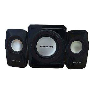 Caixa De Som Bluetooth 18w Subwoofer Wireless 2.1 Canais -  VC-G500BT