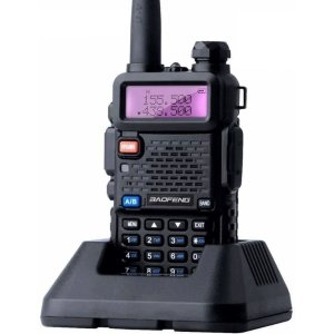 Rádio Comunicador Baofeng Uv-5r Walk Talk Dual Band Vhf Uhf