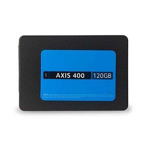 SSD Multilaser 120 Gb AXIS 400 Gravação 400 Mb/s 2,5 - SS101