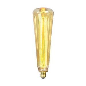 Lâmpada Led 4w De Filamento Retrô ST94 - Âmbar