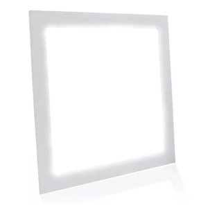 Mini Painel Plafon LED  12w Quadrado Embutir - Branco Frio