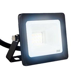 Refletor LED  20w Eco Clean SMD - Branco Frio