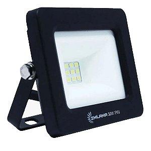 Refletor LED  30w Eco Clean SMD - Branco Frio
