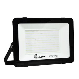 Refletor LED 800w Holofote Smd Eco Bivolt - Branco Frio