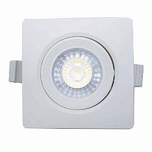 Spot LED 3w SMD de Embutir - Branco Frio