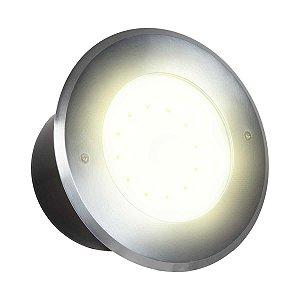 Balizador LED 12w De Chão - Branco Quente