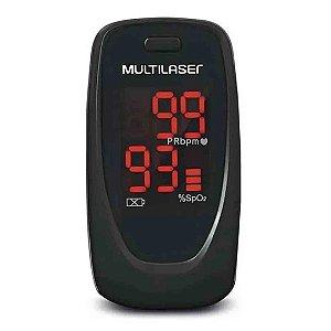 Oximetro De Pulso e Dedo Multilaser HC023 Digital Oxygen Check Preto