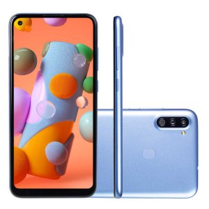 Smartphone Samsung Galaxy A11 3Gb 64Gb Octa Core Dual Chip Câmera 13MP