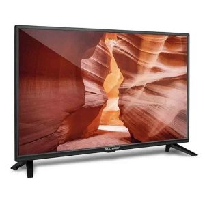 "TV LED 24"" Multilaser TL021 Entrada USB HDMI  AV in"