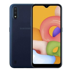 Smartphone Samsung Galaxy A01 2Gb 32Gb Dual Chip Câmera 13MP - Azul
