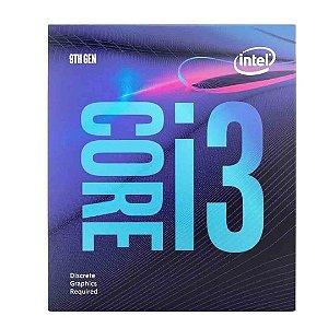 Processador Intel Core i3 9100f 3.60 Ghz 6 Mb Cache Gamer