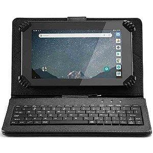 Tablet Multilaser M7s Go 1 gb 16gb Quadcore + Case E Teclado