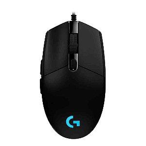 Mouse Gamer Logitech c Óptico Usb Rgb 8.000 Dpi