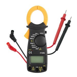 Alicate Amperímetro Profissional e Digital com Medição 600v Cat II