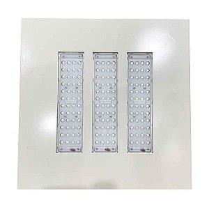 Luminária LED de Posto HPC3 Econômica Embutir 150W - Branco Frio