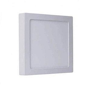 Painel Plafon Led 18W Quadrado Sobrepor - Branco Neutro - Avant