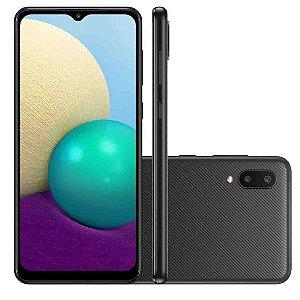 """Smartphone Celular Galaxy A02 Tela 6.5"""" Dual Chip Nano SIM - 32GB"""