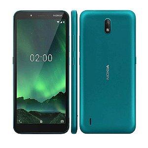 Celular Smartphone Nokia C2 Verde Ciano - NK011