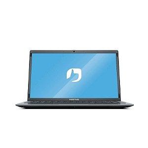 """Notebook com Linux 14"""" Cinza 4GB RAM Intel Celeron Dual-Core Positivo"""