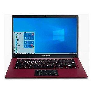 "Notebook Multilaser Legacy Cloud 14"" 2gb 32gb W10 Vermelho"
