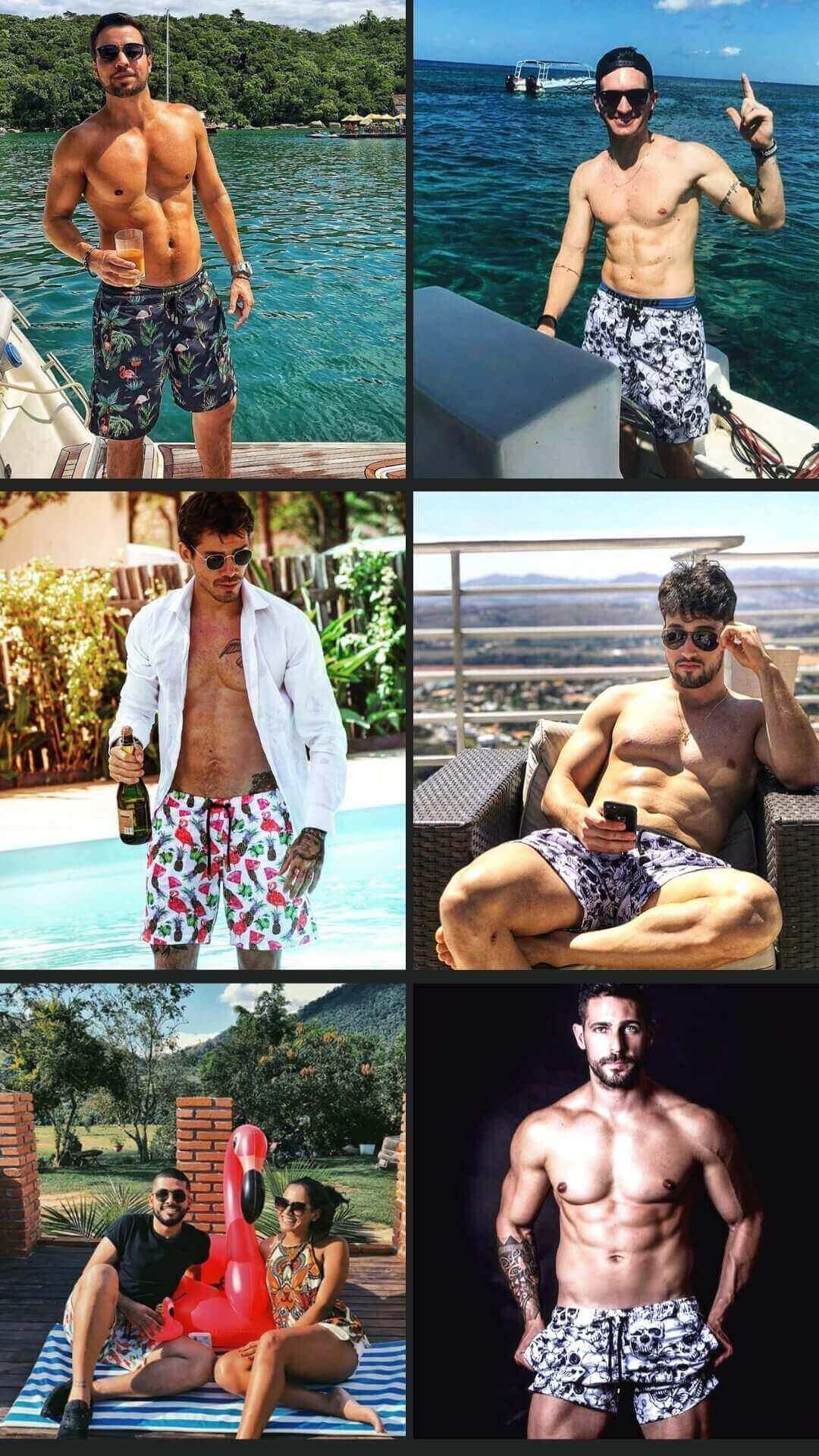 homens usando roupas Lavibora