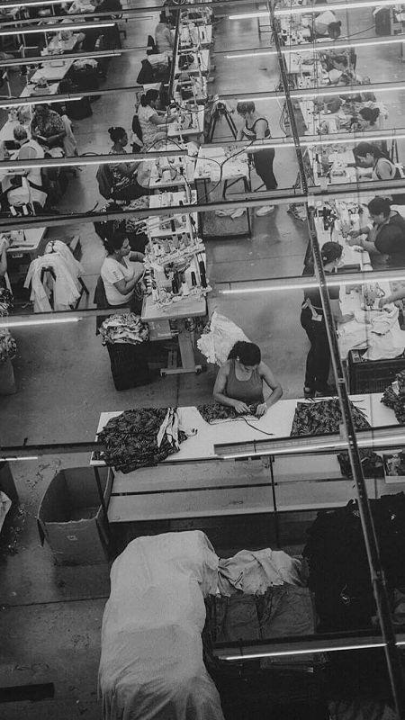 foto antiga da fábrica