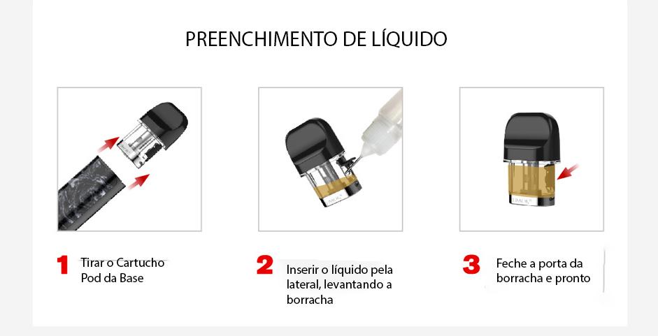 Resultado de imagem para cartucho SMOK Novo 2 DC MTL