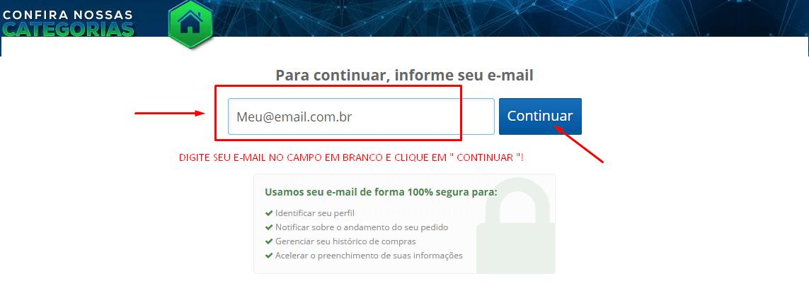Como comprar e-mail