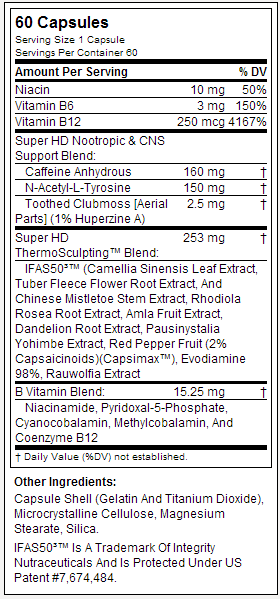 super hd tabela nutricional
