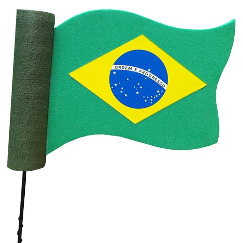enfeite para antena de carros brasil
