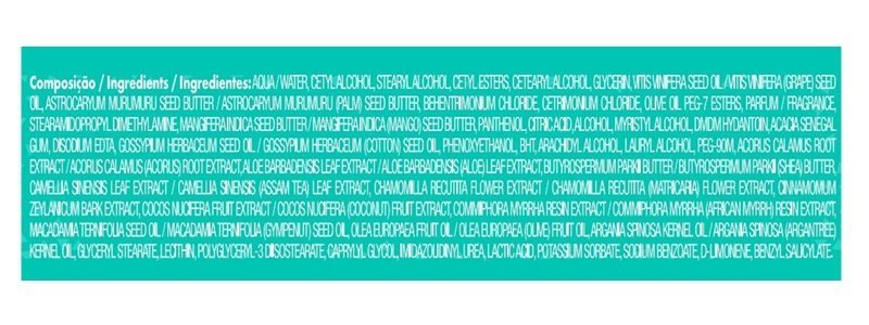 Composição Mascara de Hidratação Trivitt Cachos Itallian HairTech 300g