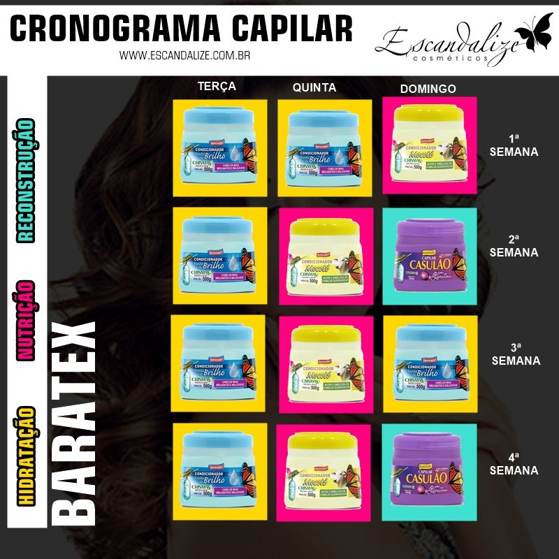 CRONOGRAMA CAPILAR BARATEX