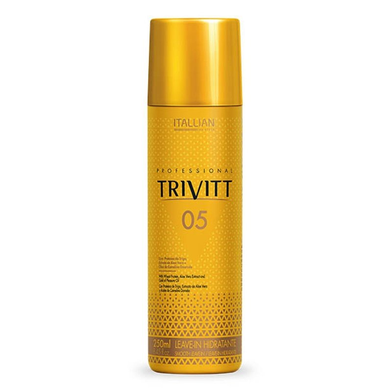 Trivitt 05 Leave-in Hidratante Itallian HairTech 300ml