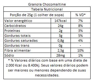 Granola Chocomaltine Granuta