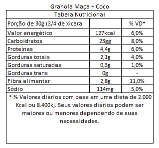 Granola Coco e Maca Granuta