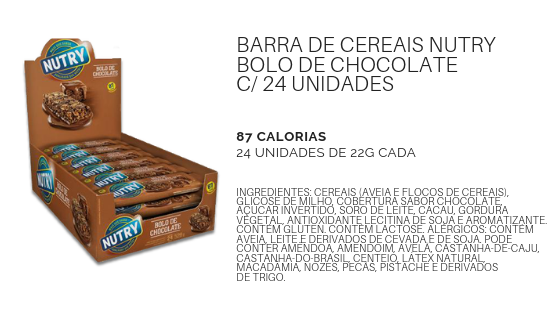 BarraCerealNutryBoloChocolate