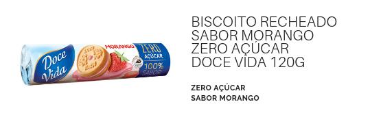 BiscoitoRecheadoMorangoZeroAçucarDoceVida